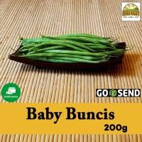 Sayur Organik Premium - Baby Buncis per pack (+/- 200g)