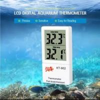 Thermometer Digital Aquarium LCD Display / Indoor / termometer suhu