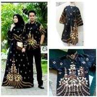 Batik Couple keluarga sania ruffle ori ndoro jowi dnt baju couple