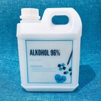 ALKOHOL 96% ETANOL ETHANOL baik untuk Disinfektan, Antiseptik, Sanitiz