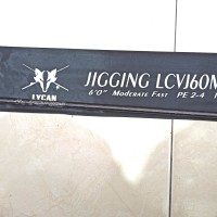 BLANK LYCAN JIGGING PE 2-4 JORAN CUSTOM HOLLOW SUPER STRONG NO FUJI