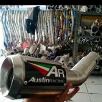 Knalpot Replika Austin Racing GP1R Carbon Type CBR250RR Custom