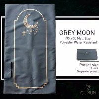 Fourteen Store - Black Theme Moon Grey - GUMUN Sajadah Travel Sajadah