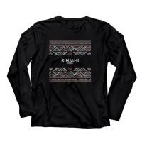 Kaos Pendaki Gunung Outdoor T shirt Climate Adventure Rinjani Panjang