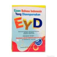 Promo Buku EYD - Ejaan Bahasa Indonesia Yg Di Sempurnakan Termurah