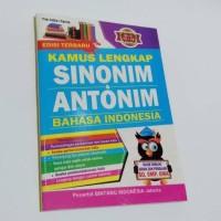 Promo Kamus Lengkap Sinonim Antonim Bahasa Indonesia Termurah