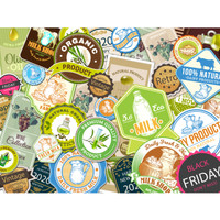 promo cetak sticker label vinyl A3+ sticker murah