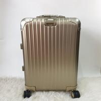 Koper Rimowa Alumunium 20 Inch Topaz Titanium Gold