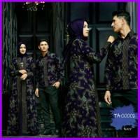 Ta 00002 Couple Xl Zafhir Baju Muslim Undangan Lebaran Sarimbit Batik