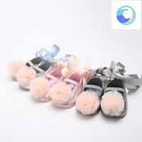 Sepatu Prewalker Bayi Model Ballet/Dance dengan Tali Pita, 7