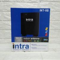 ANTENA TV DIGITAL INDOOR OUTDOOR INTRA INT-118 FREE KABEL 10M Harga