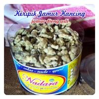 keripik jamur kancing utuh khas dieng kualitas terbaik