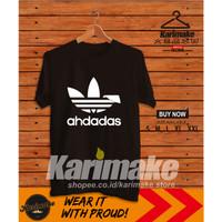 Kaos Baju Sunda Ahdadas Adidas Logo Kaos Distro - Karimake