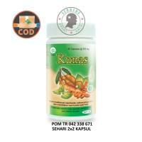 Obat Herbal Borobudur - Kunas 60 Kapsul - Melancarkan Haid