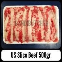 US Slice Beef / Irisan Daging Sapi Shabu Yakiniku Sukiyaki Bandi