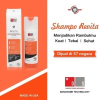 2 Shampoo revita 205ml, shampo anti rontok dan anti DHT