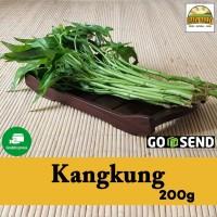 Sayur organik premium - Kangkung per pack (+/- 200g)
