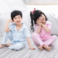 piyama anak/ baju tidur anak Bahan Organik Premium IMPORT