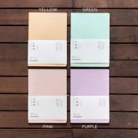 Floating Dream Glitter Grid Notebook B5 - Buku Catatan Kotak