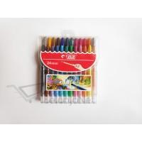 Twist Crayon | Krayon Putar TiTi TI-CP-24 Mini / 24 Warna / Colors