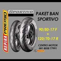 ASPIRA PREMIO SPORTIVO 90/80-17+120/70-17 PAKET BAN TL ALL NEW VIXION