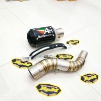 Knalpot AR Austin Racing GP1R Slip on CBR150R New CB150R CBR250RR