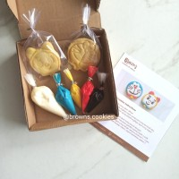 Character Cookies DIY Decorating Kit / Kue Kering Hias Doraemon Dorami
