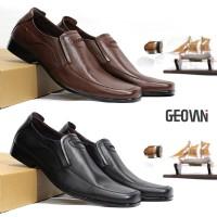 Sepatu Pantofel Pria Formal Kulit Asli Geovani S - G05