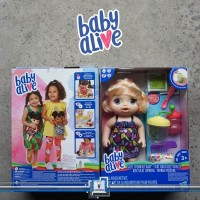 Baby Alive - SWEET SPOONFULS - BLONDE / Makan & Minum not Snackin lily