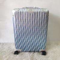 Koper Rimowa Dior 20 Inch Limited Edition Cabin Blue
