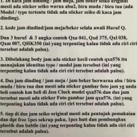 Ekalidra Qxa564 Jam Dinding Seiko 50Cm