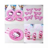 Tahun Pesta Set Ulang Hello Dekorasi Kitty untuk Desain