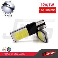 Lampu LED T10 Can Bus COB 6W - White