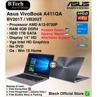 ASUS Vivobook A411QA AMD A12-9720P/4GB/1TB/WIN10HOME