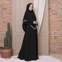 Gamis Dress Terbaru Aisyah Syari Plus Hijab