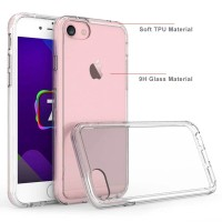 Armor Glass Case iPhone 7 - 8 - Tempered Clear Original Kaca Bening