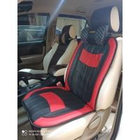 Sandaran Bantalan Jok Mobil Murah MOTIF GARIS / Seat Cushion CARFU