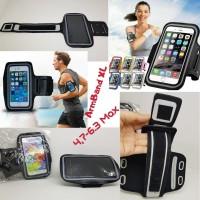 Kantong HP Saku Lengan Kantung HP Armband Sport XL 6.0for Jogging Gym
