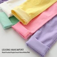 Celana Legging Anak Perempuan / Leging Fashion Korea Cewek Import