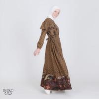 Baju Gamis Wanita Terbaru Alshati - Emikoawa Dress Premium Maxi Syari