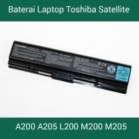 Baterai Laptop Toshiba Satellite A200 A205 L200 M200 M205 Original