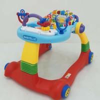 Babywalker babyelle 0188 / alat bantu jalan 2 in 1 terlaris