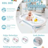 Kandila Baby Folding bath (Bak Mandi Lipat dengan Hot Sensor) KDL 002