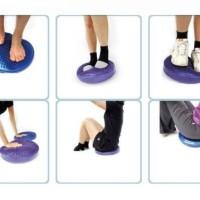 Balance pad Air Pad yoga patner pelatih keseimbangan olahraga alat