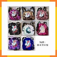 Tas Backpack Sequin Flip Blink Two Face Little Pony Unicorn ZHAC008