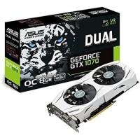 NVIDIA Geforce GTX 1070 ASUS Dual OC 8GB GDDR5