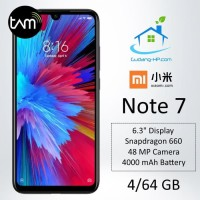 Xiaomi Redmi Note 7 4/64 GB Garansi Resmi⠀