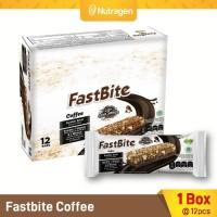 Prosana Fastbite Sereal Bar Tinggi Serat (Box Isi 12 pcs) Kopi