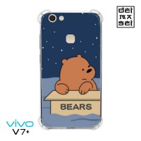 We Bare Bears Grizzly 06 Casing Vivo V7 Plus Anti Crack Anticrack Case