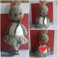 Boneka Rajut amigurumi bunny